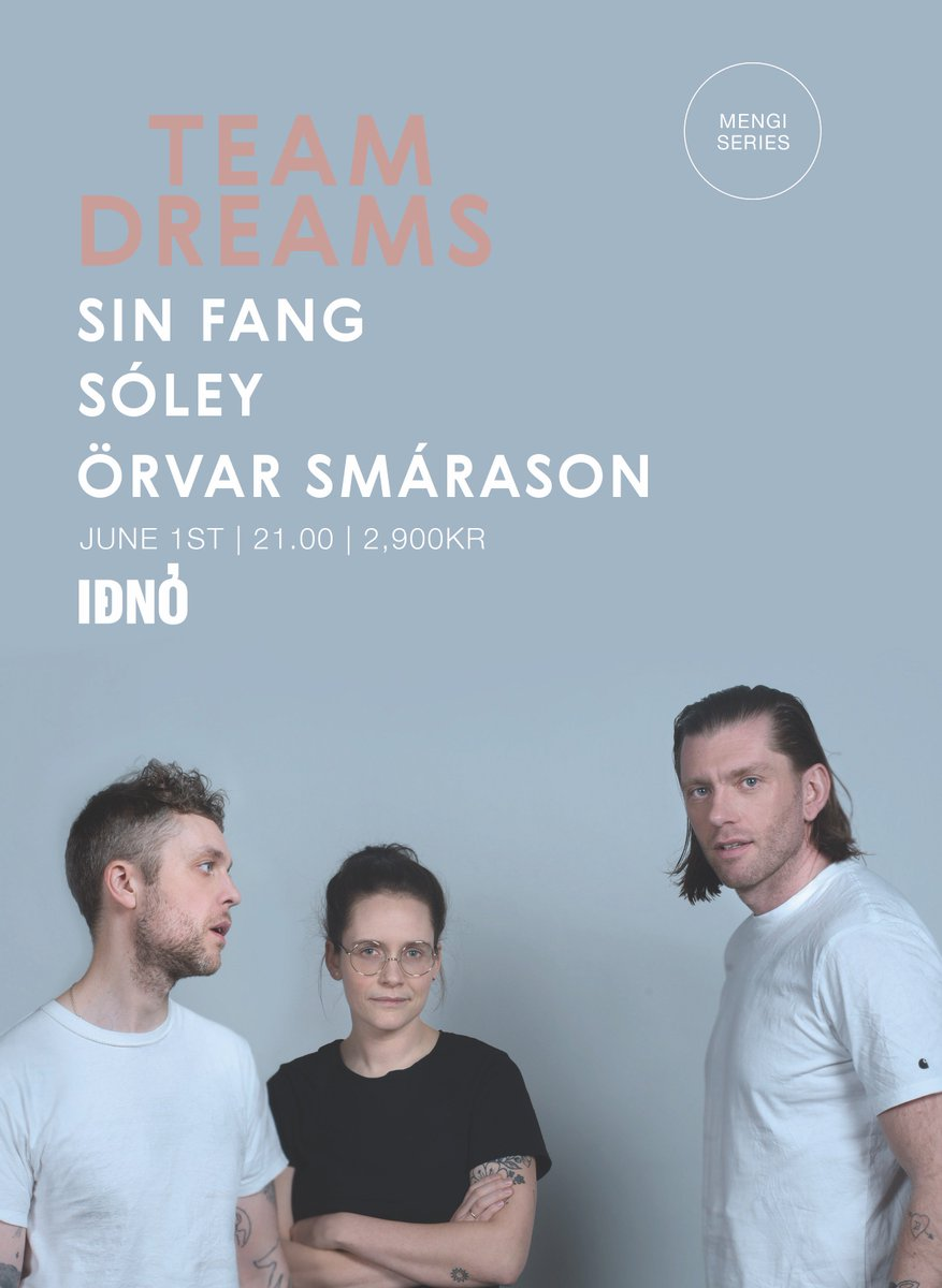 test Twitter Media - Team Dreams in Reykjavík  1st of June 2018 Tickets: https://t.co/wTAoRauu3t @OrvarSmarason  @soleysoleysoley  @sinfanggg https://t.co/DGO6lfYZwr