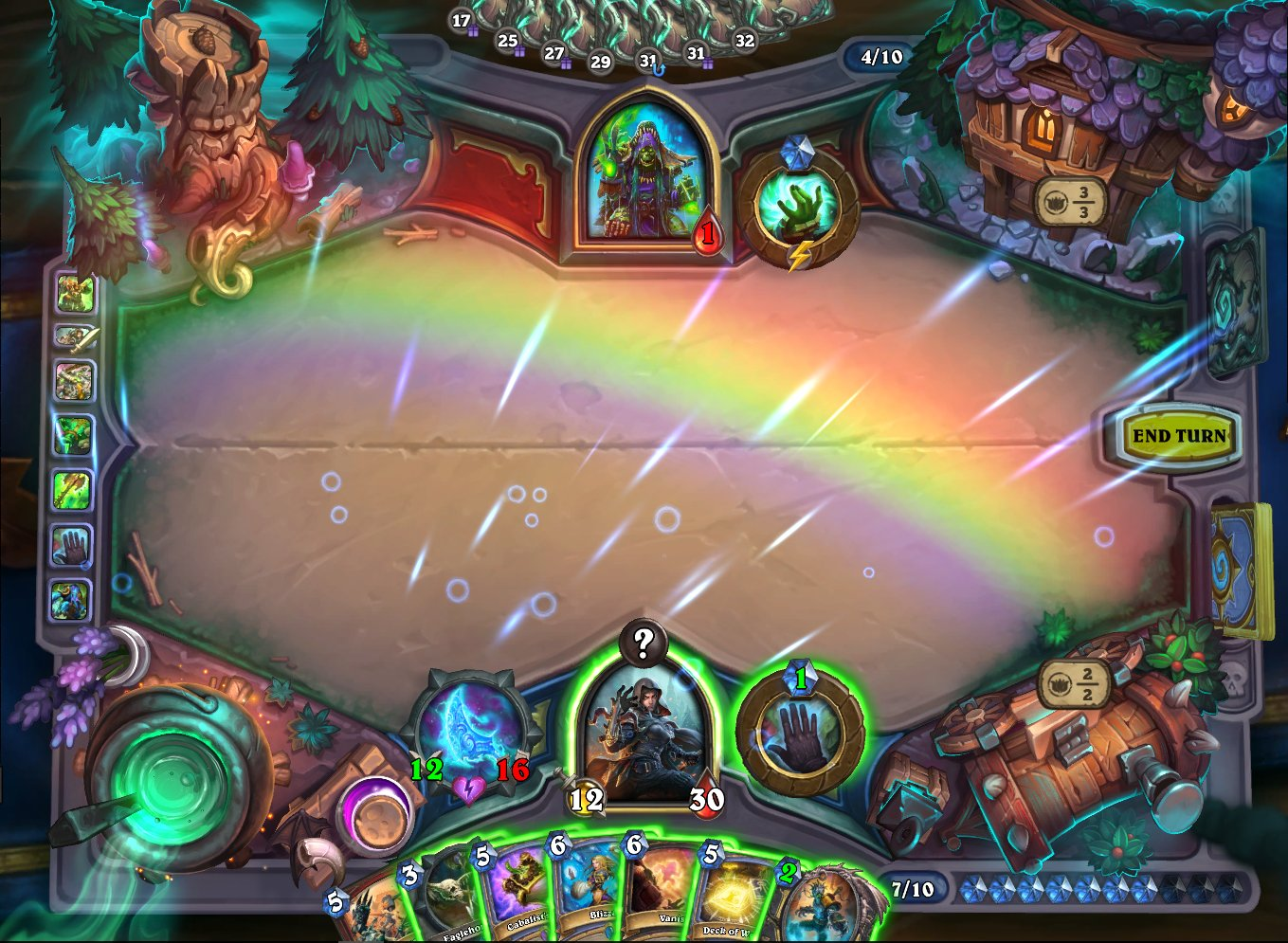 Beat the witch senseless my first time but Toki took forever... wtf. #Hearthstone https://t.co/nHtQKzQbIK