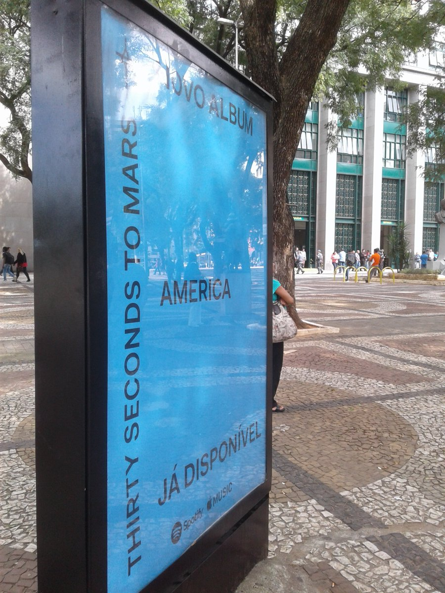 RT @LiveMissionMars: Hoje eu encontrei AMERICA na Praça João Mendes. ????  #AMERICAeBRASIL https://t.co/EY6jJMleRi
