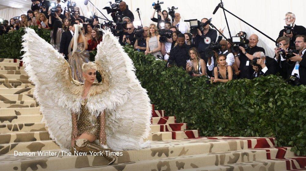 "Katy Perry: ""I feel very angelic. Celestial. Ethereal.""   Photos: https://t.co/uhxp3mFfdx https://t.co/6BjadMfaLy"