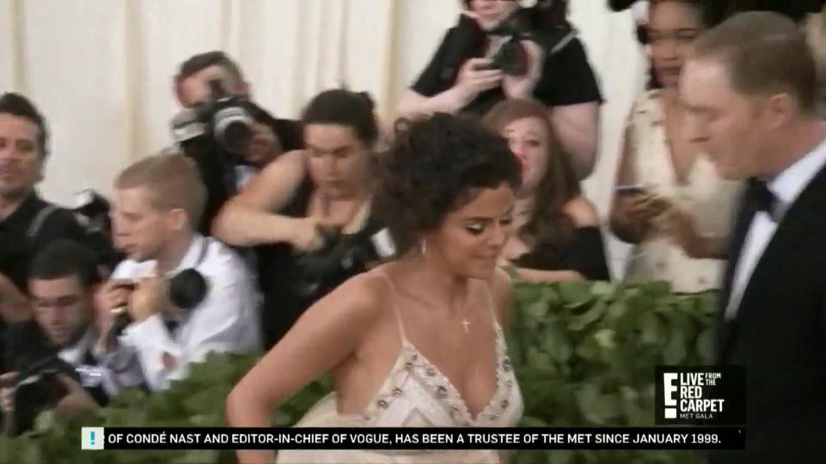 Selena Gomez has hit the MetGala red carpet.