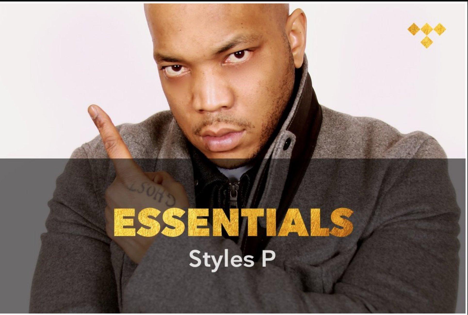 Styles P Essentials https://t.co/J0j9sSY0i0 #TIDAL https://t.co/qIEexGPbU0