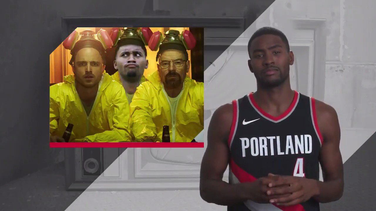 You don't have to watch the TV shows your teammates are watching. Just Ask the Blazers. https://t.co/MIzuypP3aV