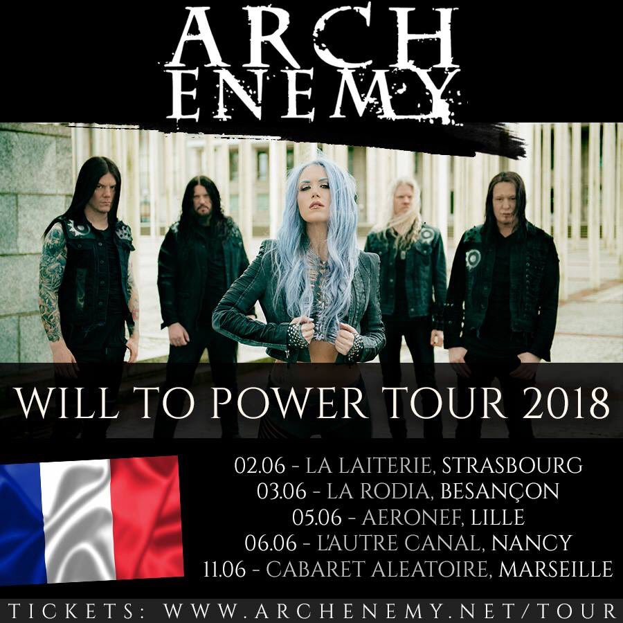 Arch Enemy @ Lille