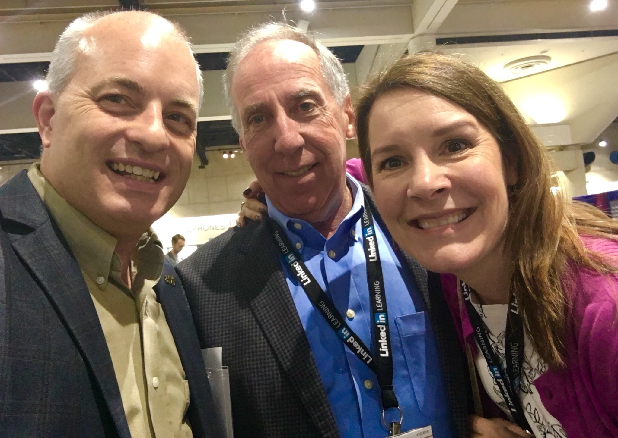 #ATD2018 #ATDReunionSelfie with the brilliant and inventive dynamic duo: @Jim_Kirkpatrick and @WkKirkpatrick https://t.co/VPmuD9pnyG