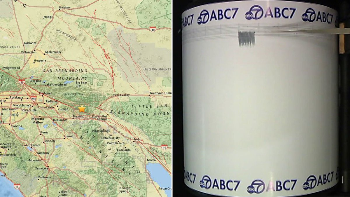 Caltech Seismologists Say Today S Earthquake Leaves 1 2 Percent
