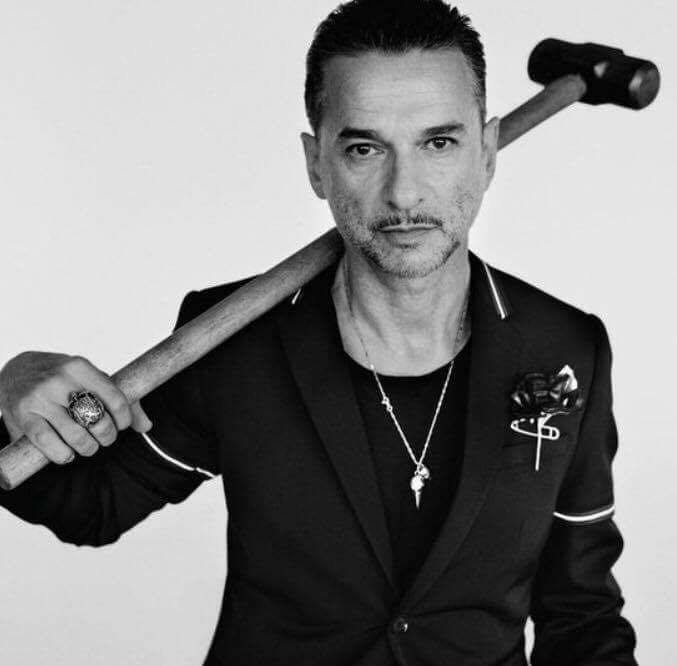 Happy 56th Birthday Dave Gahan!