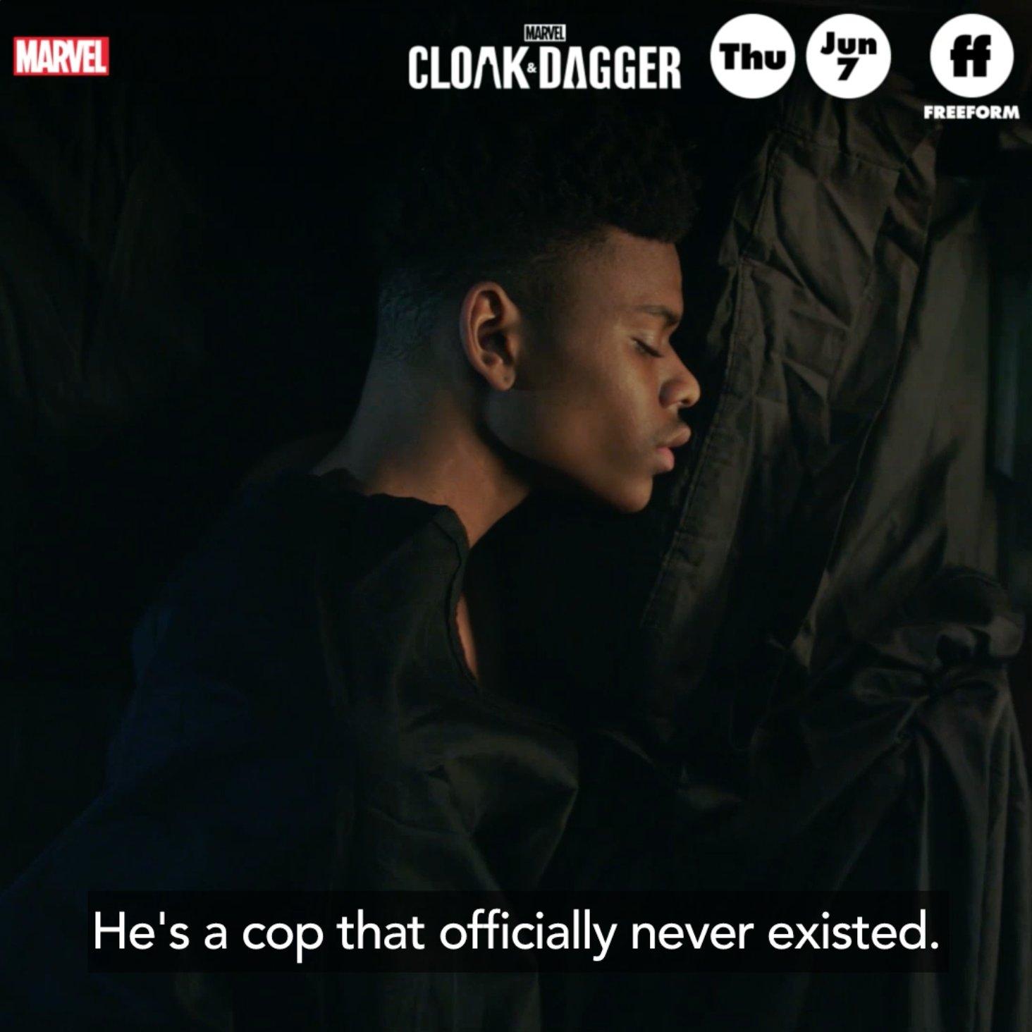 Taking back what is theirs.  Marvel's #CloakAndDagger premieres Thursday, June 7 on @FreeformTV. https://t.co/2kwSeMej78
