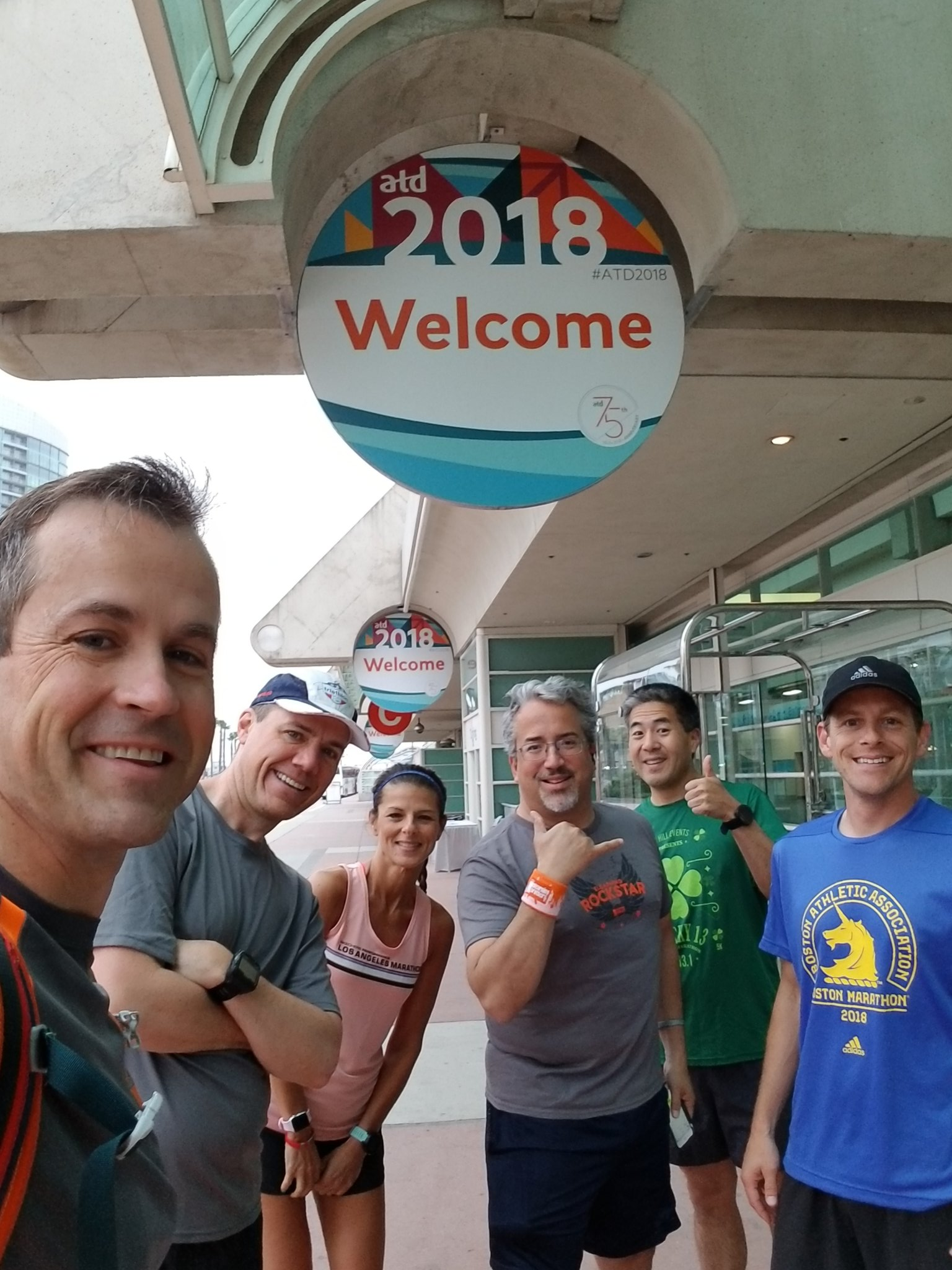 eLearning athletes going for a morning run at #ATD2018 @kimpossible713 @planter @AndrewScivally @vincehan @rvass2 @speedclimb @dominKnow @DDIworld @mobile_coach https://t.co/qlSBYd9Igo