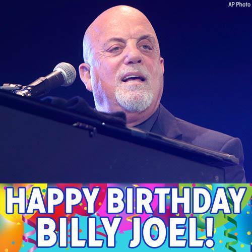 Happy Birthday to piano man Billy Joel