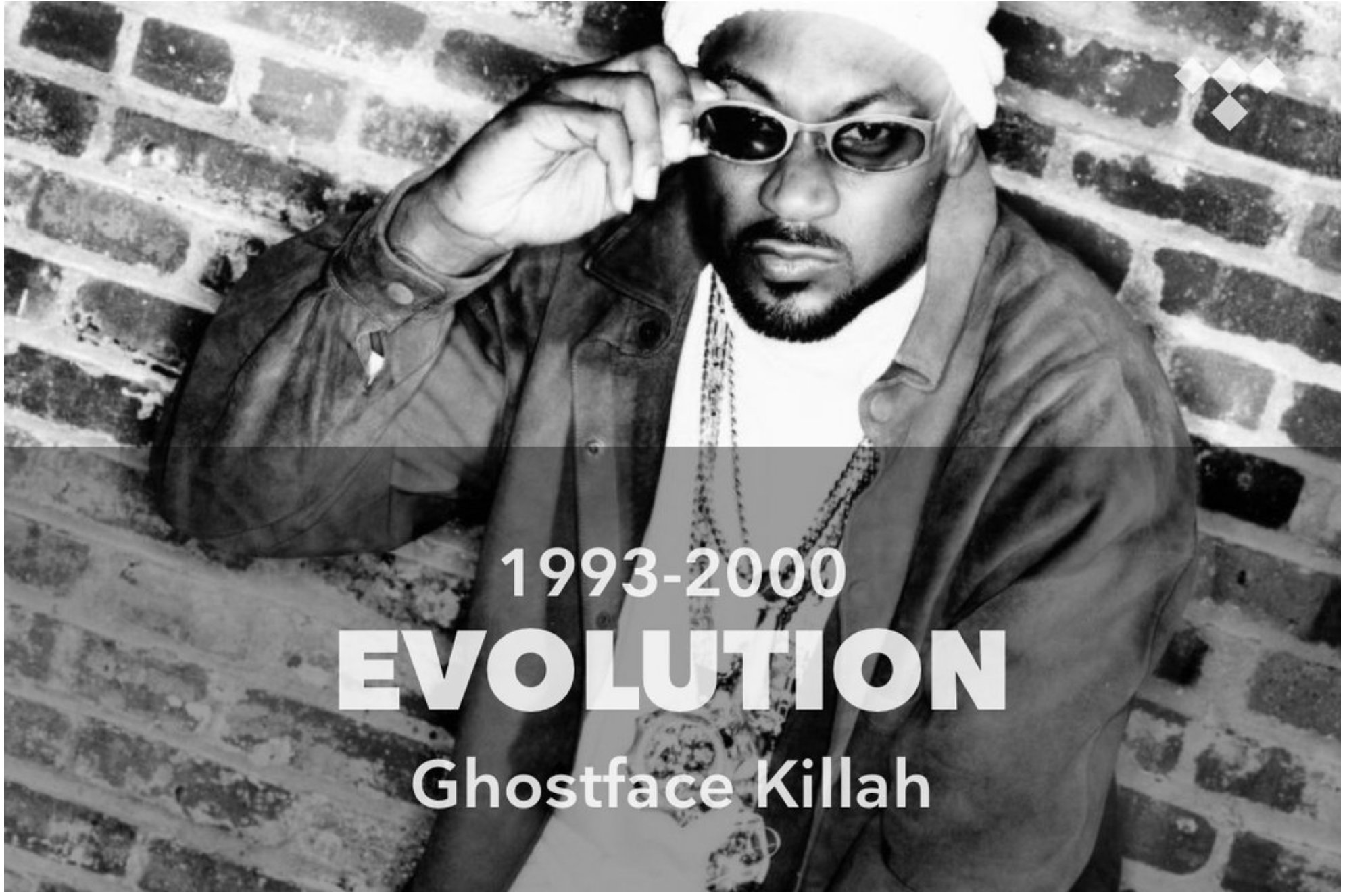 Evolution: Ghostface Killah (1993-2000) https://t.co/24HDWtcfhq #TIDAL https://t.co/tAdiebctyk