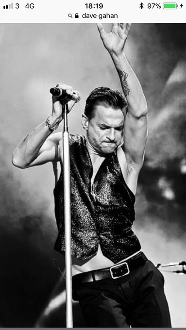 Happy 56th birthday to iconic lead singer of Depeche Mode Dave Gahan