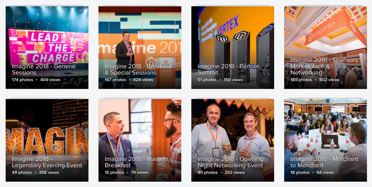 sherrierohde: ICYMI: The official #MagentoImagine photos are live on our Flickr: https://t.co/cBdEnFyZMh https://t.co/6EO3uEbnpP