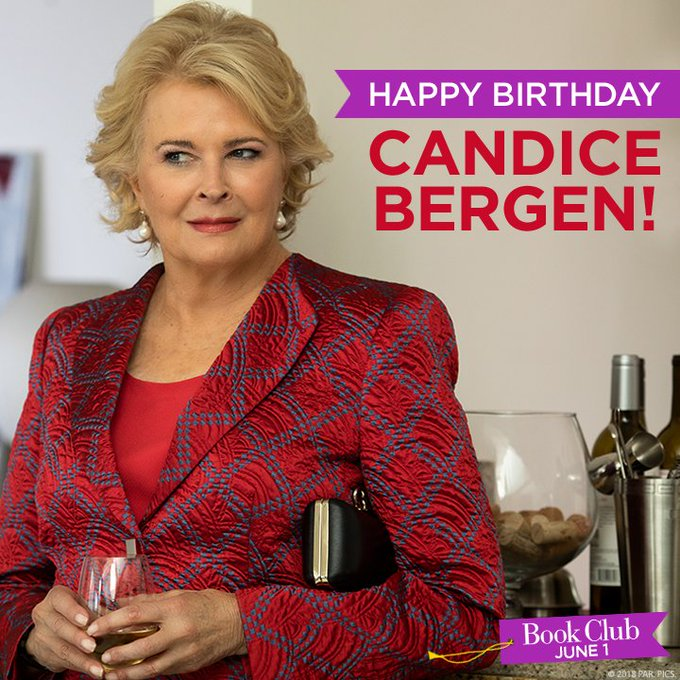 Happy birthday to one of marvellous members, Candice Bergen.