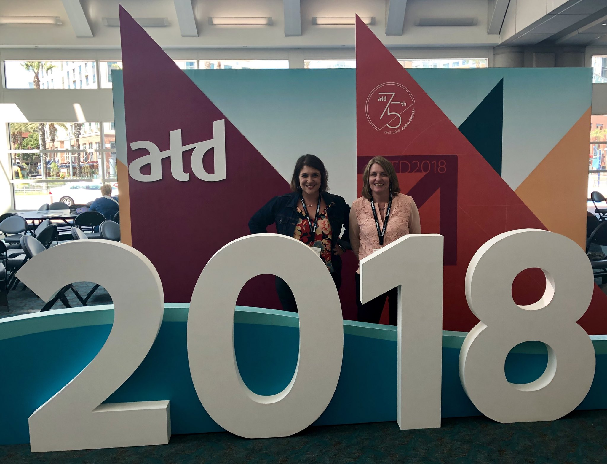Thank you so much to @BOMIInt for the opportunity to attend #atd2018! I learned so much and am excited to bring back new and innovative ideas to our L&D team! https://t.co/KAtzAWBn1Y