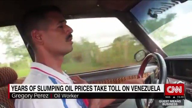 Years of slumping oil prices and crippling corruption decimate the Venezuelan economy