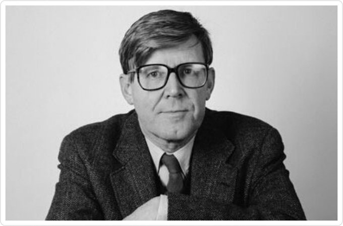 "Happy birthday Alan Bennett. 84 today: ""A book is a device to ignite the imagination.\"""