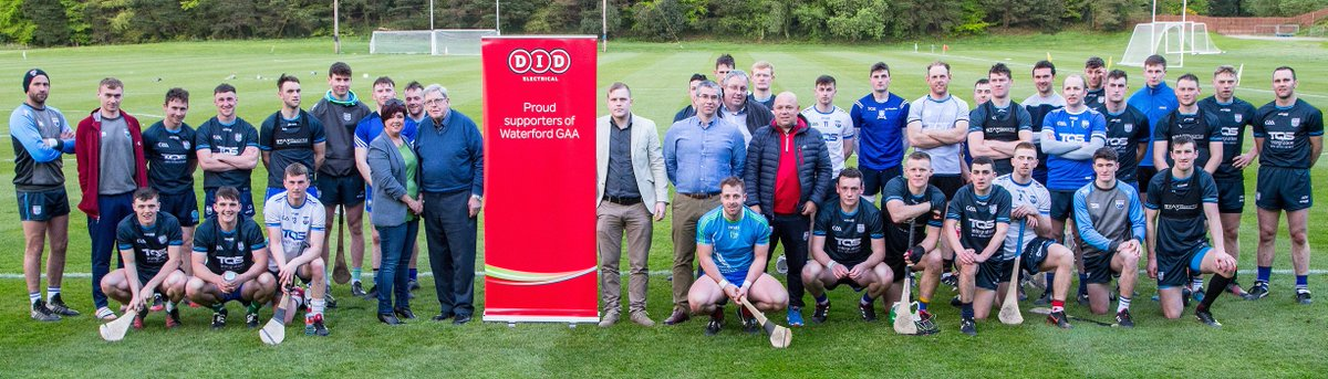 As the proud sponsors of @IamClubDeise we are wishing @WaterfordGAA the best of luck today against Clare! 😃 https://t.co/d08SS3rKiC