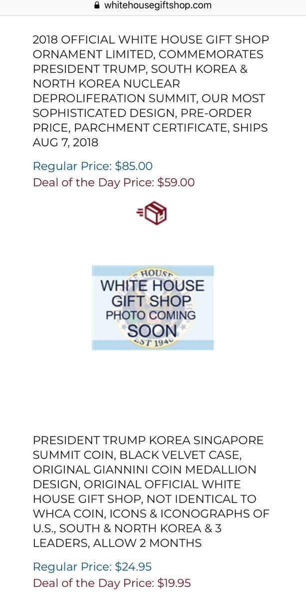 White House Gift Shop
