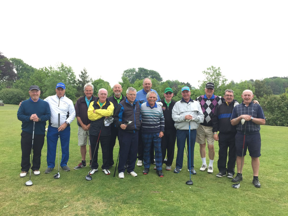 test Twitter Media - We were joined by the Westmon Seniors today.  Despite the rain this afternoon they remained all smiles and completed the full 18.  To book your society day call us on 01446 781781 Option2 https://t.co/vndmBmh6HG