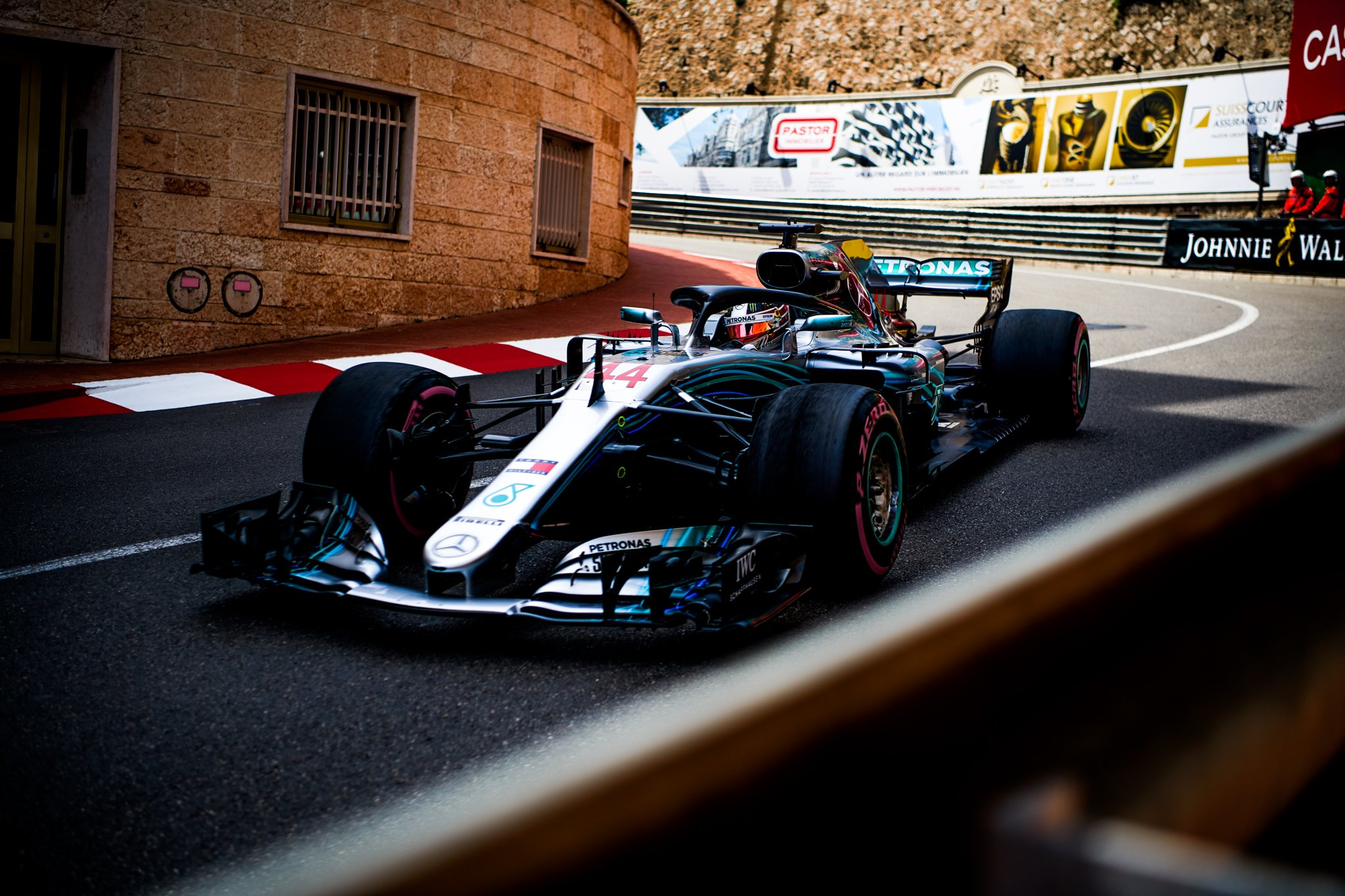 Full throttle on the streets ⚡ Are you looking forward to the race weekend? #MonacoGP �� Vid Vorsic @MercedesAMGF1 https://t.co/SfYxsma4cM