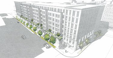 229 units, retail planned on the Travelodge block near U Village...