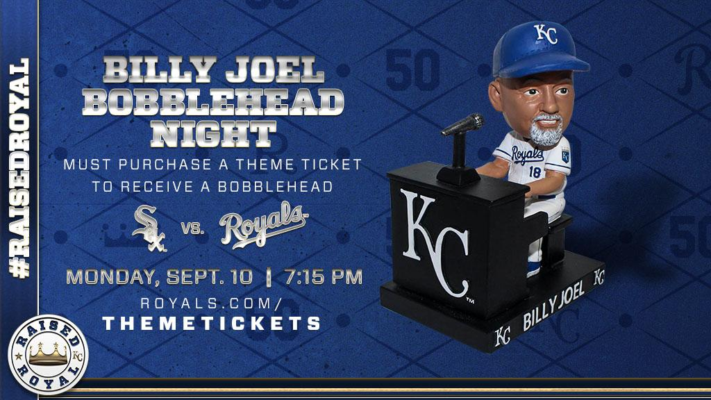 test Twitter Media - We're hosting @BillyJoel Night on September 10! Get this exclusive bobblehead with a Theme Ticket in anticipation for his September 21 concert at #TheK. https://t.co/MxEdpgwUGK https://t.co/ThsDNVdwtA