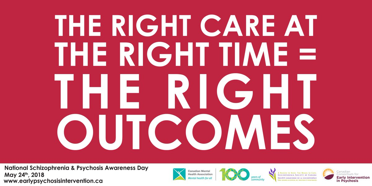 test Twitter Media - Early intervention in schizophrenia and psychosis reduces suffering, improves quality of life, and reduces future episodes. Today for #NSPAD18, learn more about the early symptoms and warning signs of psychosis and schizophrenia. #SupportSZ #CMHA100  https://t.co/1zSjtn7XlV https://t.co/rKRCxfSwlz