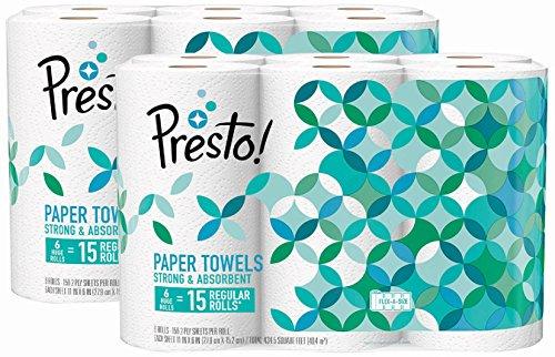 US #Kitchen No.9 Amazon Brand - Presto! Flex-a-Size Paper Towels Hu... https://t.co/ugyrIxcGAb https://t.co/BgLxnfi0aS