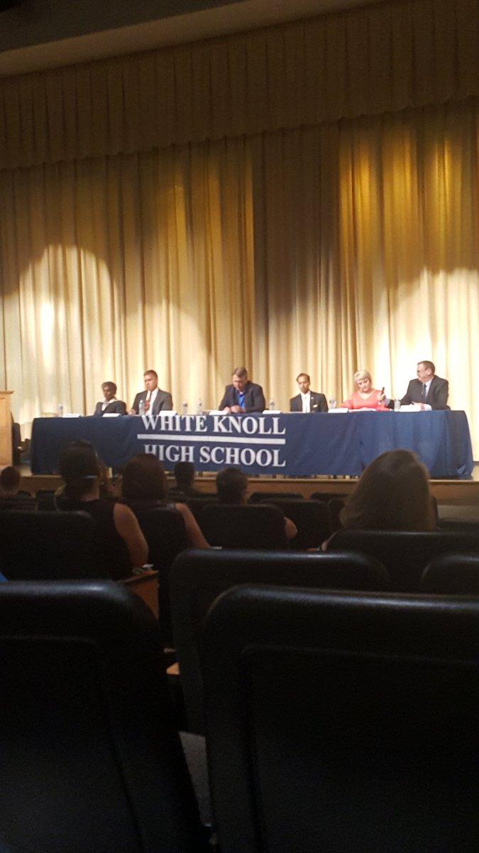 RT @RichLAdams2: Very thankful for @WhiteKnollHigh hosting tonight's school board candidate forum @LexingtonOne https://t.co/mdzr984n0P