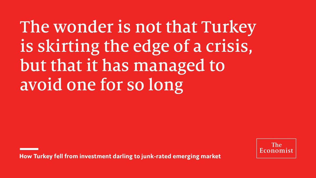 The deficit on Turkey's current account is one of the largest in the world