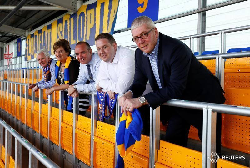 Pioneering Shrewsbury are first club in England and Wales to install rail seats https://t.co/q55QGY4dOO https://t.co/xS0uoZGUh0