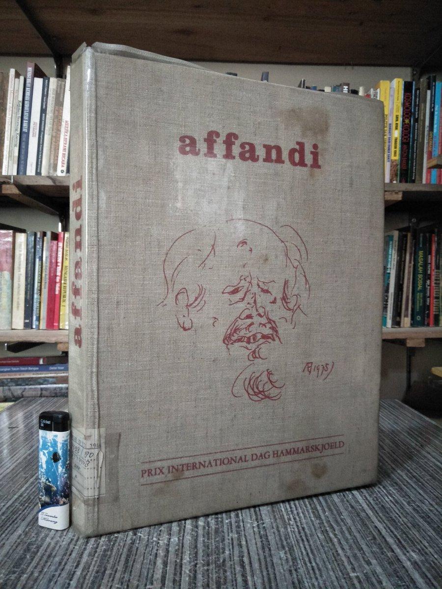 Buku Langka> Affandi.   Tahun 1976. 189 Halaman. Hardcover. Ukuran buku besar. Berat 3 kg. Minat? https://t.co/SggChOXlKg