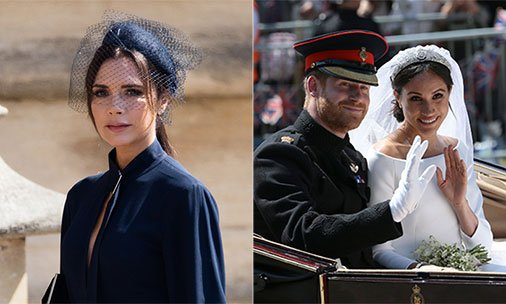 Victoria Beckham reveals what it was like to attend Prince Harry and Meghan's royalwedding:
