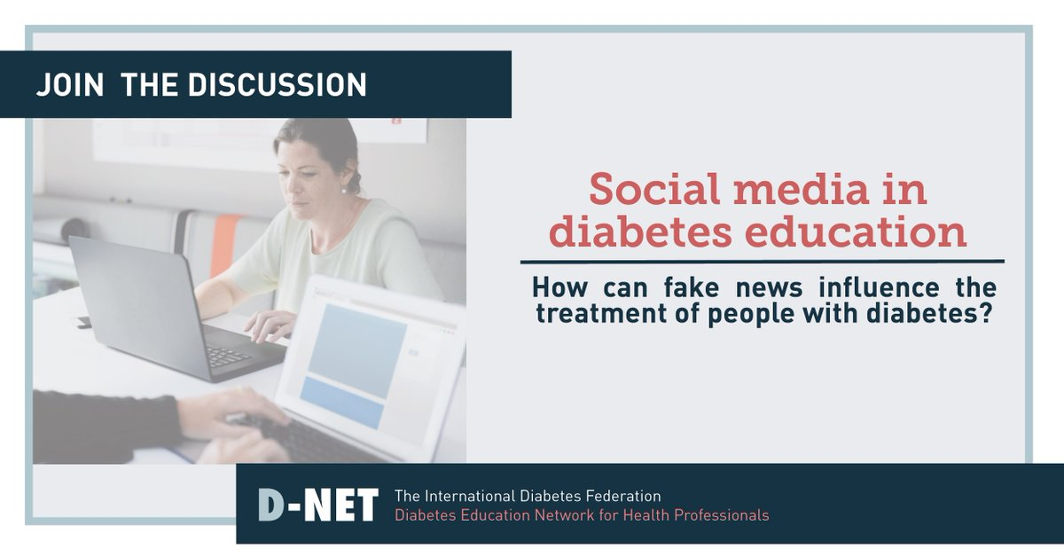 test Twitter Media - How can we provide helpful and well-informed information on #Diabetes through social media? Join the current discussion on #DNET.   https://t.co/76AVrIaGb9 https://t.co/zptLcanbfR