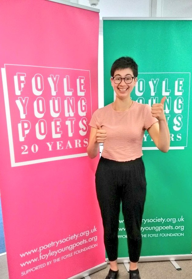 test Twitter Media - RT @helen_bowell: Look what's just arrived in the office! #FoyleYoungPoets 20th anniversary merch is coming... https://t.co/n09aALQrtn
