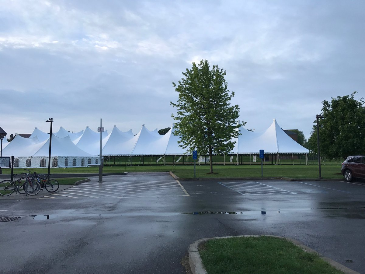 test Twitter Media - The tent is up @Wesleyan_u and we are getting ready for Reunion/Commencement #celebrate https://t.co/pu1eUUAMWy