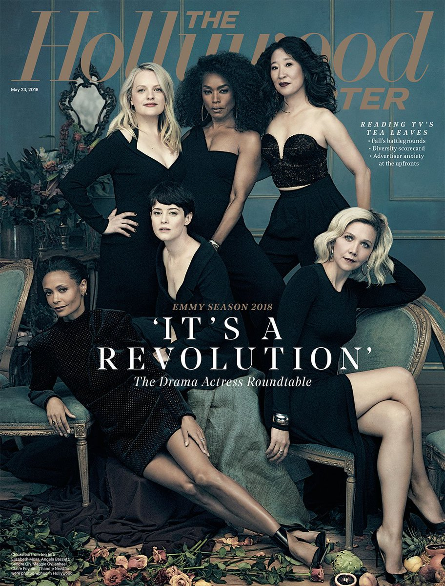 THR Cover: The Actress Roundtable with Claire Foy, Elisabeth Moss, @thandienewton and more