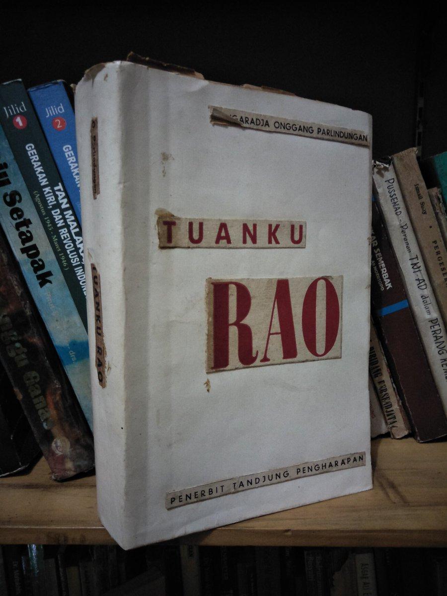 Buku Langka> Tuanku Rao; Teror Agama Islam Mazhab Hambali di Tanah Batak 1816-1833. Tahun 1964. 690 hlm. Minat? https://t.co/cxmCRbg6TH
