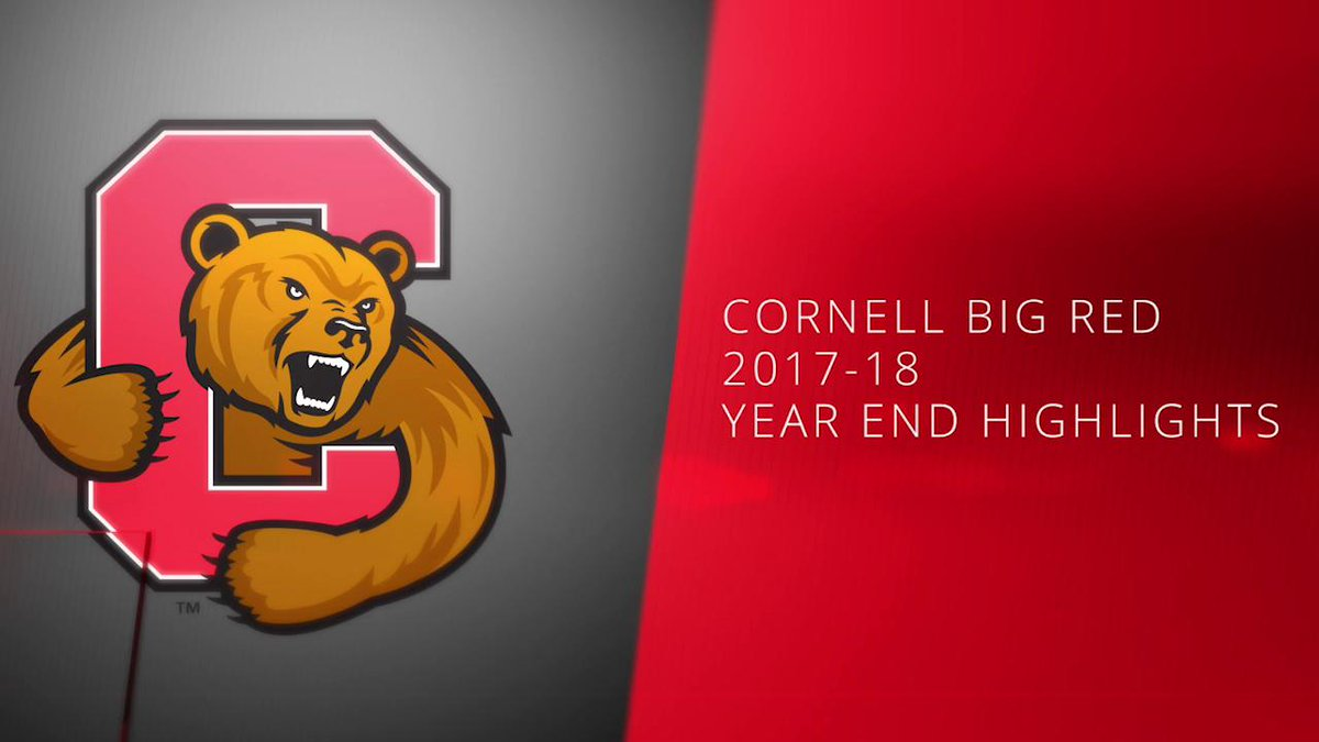 RT @CornellOnILN: Take a look back at some of the great memories from this past year of @CornellSports! #LGR https://t.co/Na581xtnht