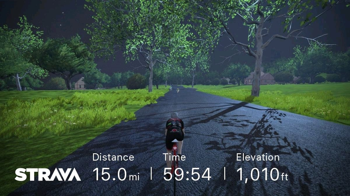 test Twitter Media - Starting the day with a nice ride through the (virtual) London countryside. #gozwift  https://t.co/KBwrZ8zoAa https://t.co/sBO2yOAvmn
