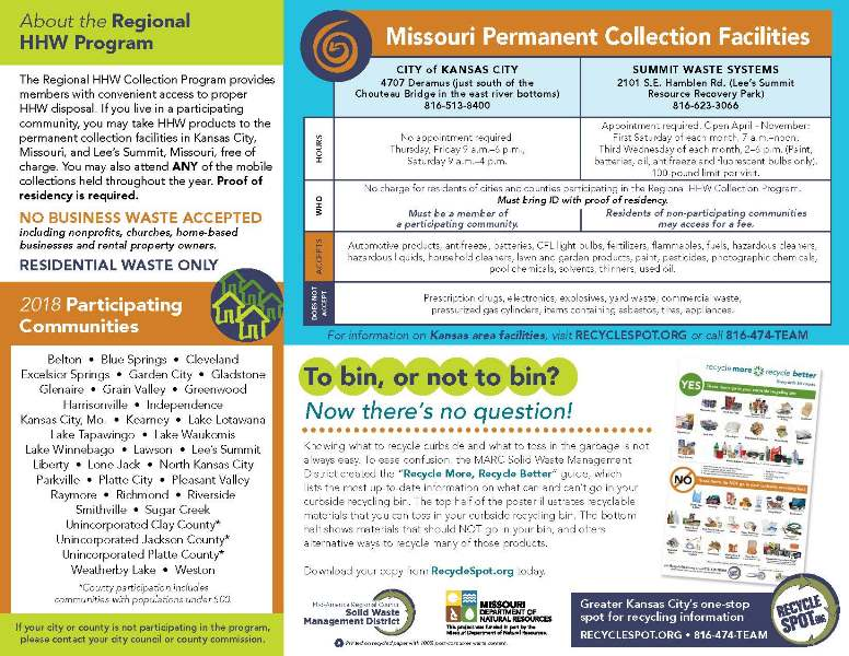 test Twitter Media - If you are not able to make a Tuesday electronics recycling event, we have good news. @parkvillemo will host an electronics recycling event during the @MARCKCMetro household hazardous waste event Saturday, September 15th from 8am to noon in Platte Landing Park. https://t.co/OYnWRyiGs9