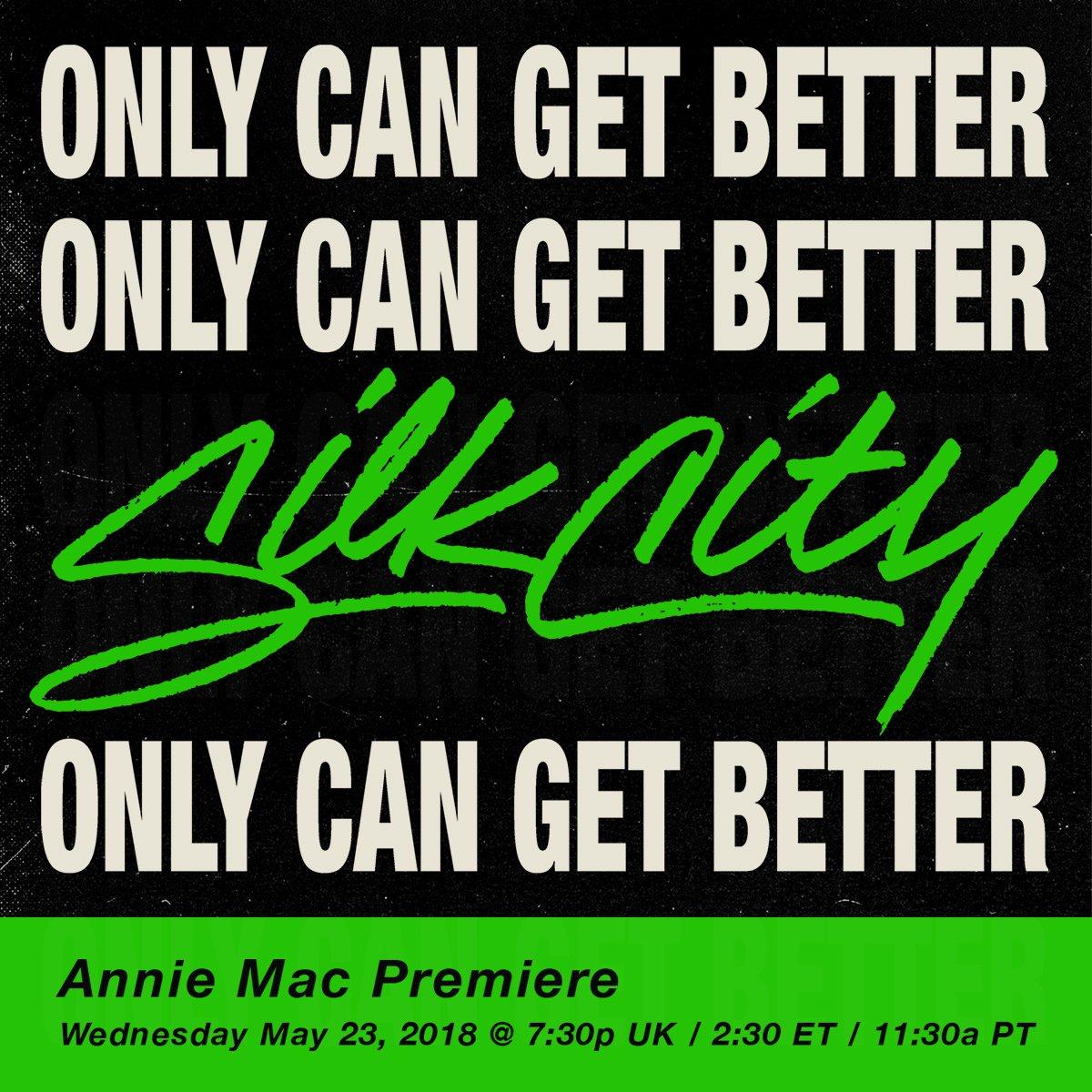 coming in 1 hour @anniemac @bbcr1 @markronson #silkcity https://t.co/gIAza9q0di