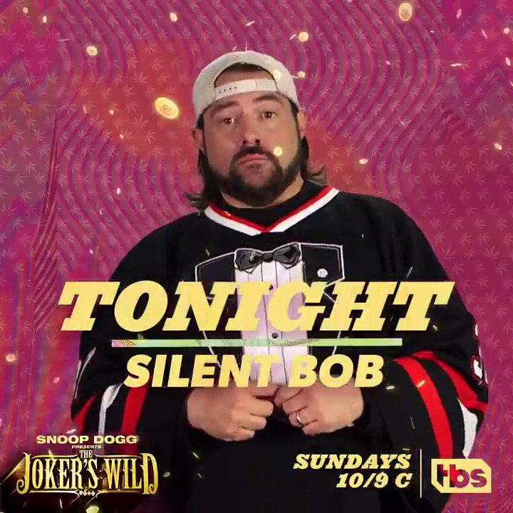 gonna be a funny one wit @ThatKevinSmith tonite on @JokersWildTBS ! check it 10/9c ???? #JokersWild https://t.co/bXn91VKRDM