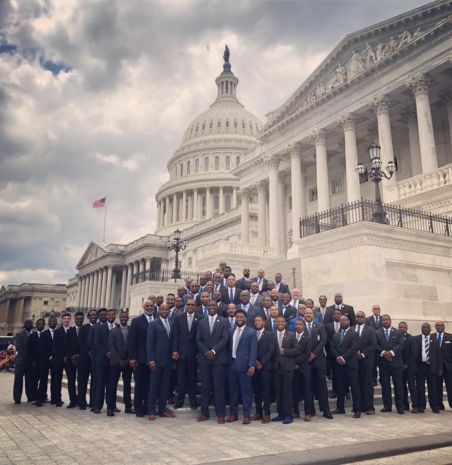 test Twitter Media - Great day to be a Sigma Man. The members of Phi Beta Sigma hit the hill today and made sure our voices were heard on issues that matter to our brotherhood. Men who stand up for their communities also change their communities. #pbs1914socialaction #PBS1914CapitolHill #pbs1914 https://t.co/CVY8y8Gvd3