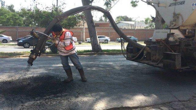 Obras Públicas realiza trabajos de bacheo en Fray Diego de laMagdalena https://t.co/gMj2K63WKu https://t.co/und6vg7OOr