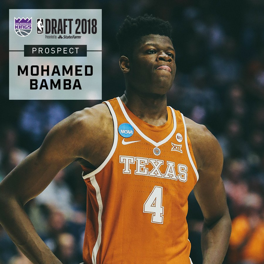 Mo Bamba has all the makings of a generational NBA big man #HookEm » https://t.co/p9pQhinVo6 https://t.co/LEmrsjV7Fk