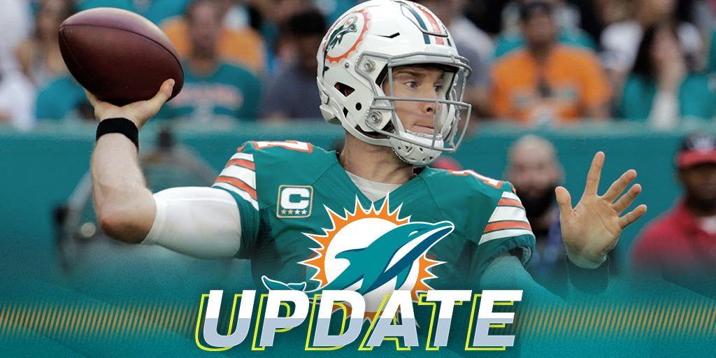 .@MiamiDolphins QB Ryan Tannehill cleared to resume all football activities: https://t.co/EYge6eNSJ8 https://t.co/Ti1mYiL9ao
