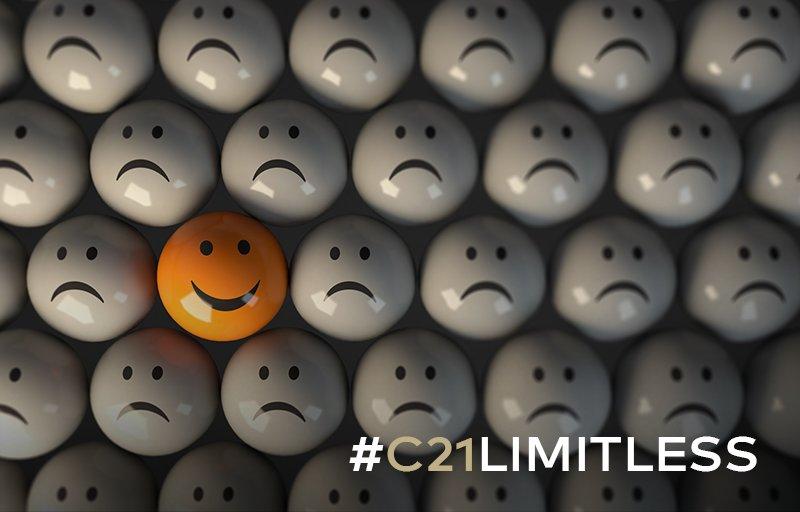 RT @C21Espanol: #Limitless Tu capacidad para encontrarle el lado bueno a la vida no tiene límite. https://t.co/W8qAYvn1va