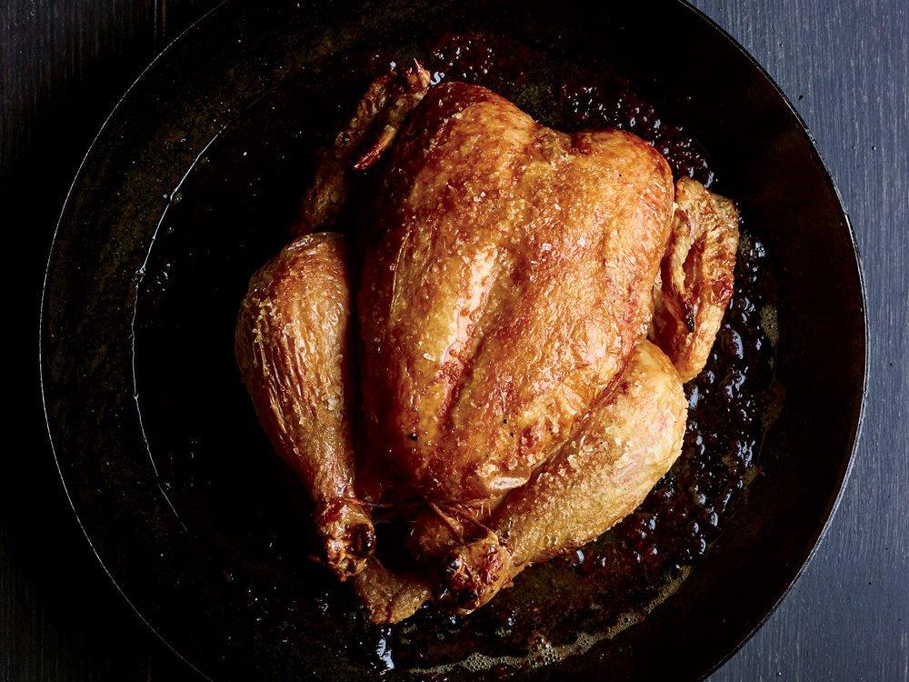 How to get restaurant-level crispy skin on your roast chicken: https://t.co/gGfsWXcFhJ https://t.co/HL31K5b3PV